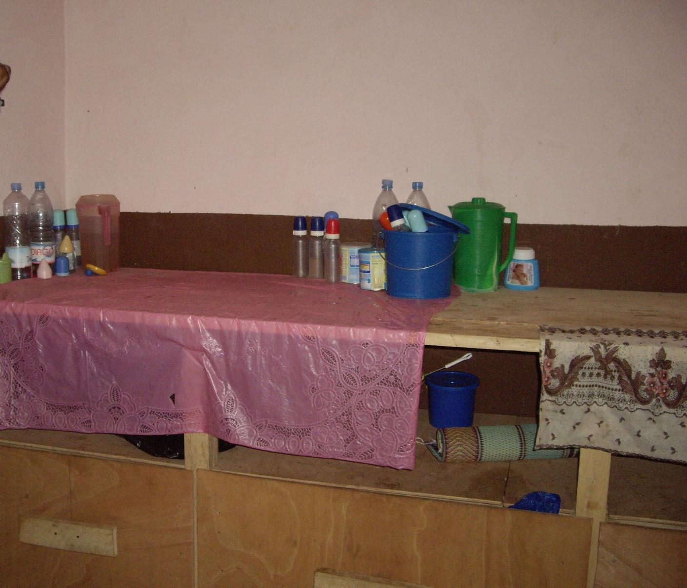 Table de préparation