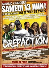 Affiche Drépaction 2009