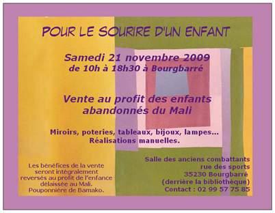 Vente Bourgbarré 2009