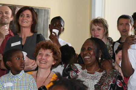 Boussy-Saint-Antoine, samedi 9 avril - venue de Néné Ouattara