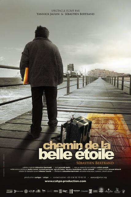 """affiche """"Chemin de la belle étoile"""" 4 au 16 nov 2011"""